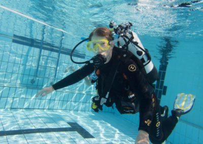 Open Water Diver Corentine
