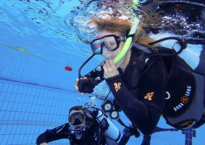 Open Water Diver Piscine Rachel