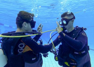 Open Water Diver Luca et Yan