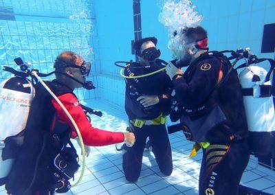 Open Water Diver Adrien et David