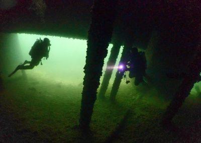 """Discover Local Diving """"Quais Vevey"""" Laure et Joël"""