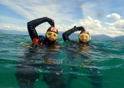 Open Water Diver Janine et Tanja