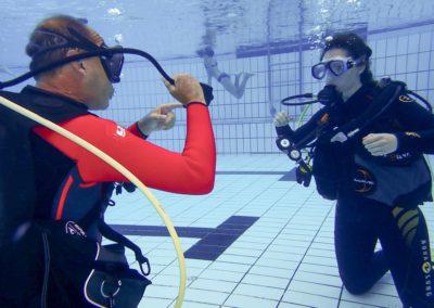 Open Water Diver Stefanie