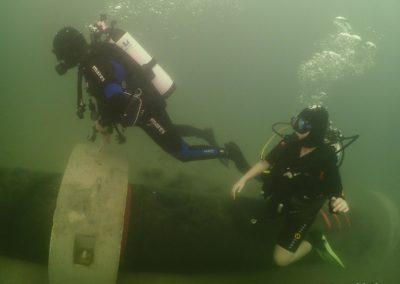 "Discover Local Diving ""Morges Circuit"" Laure et Ella"