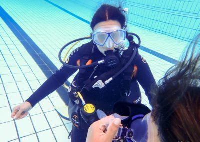 Open Water Diver Sarra
