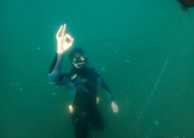 Freediver Michel