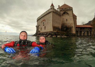 """Discover Local Diving """"Chillon"""" Laure et Michel"""
